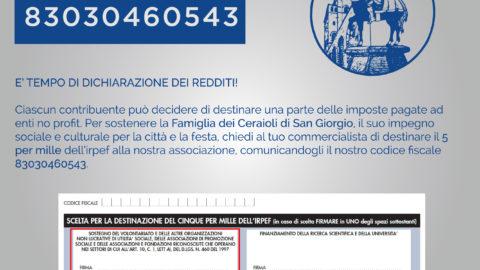 5x1000 Cero di San Giorgio